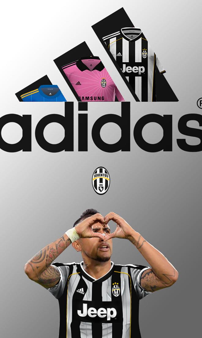 Juventus FC Match Kits 2015-2016 Adidas