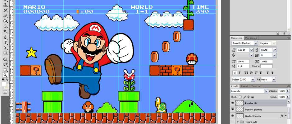 Mario Graphic